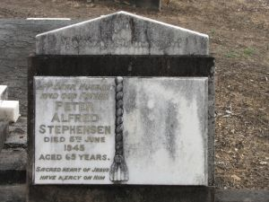 Stephensen, Peter Alfred and Mary Ann (nee Kelly)
