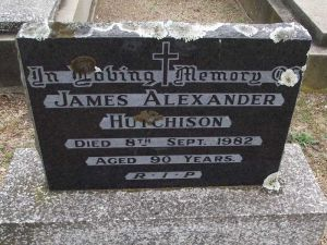 Hutchison, James Alexander