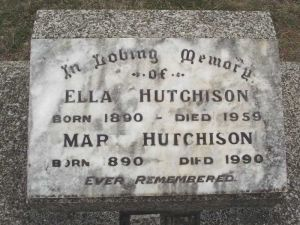 Hutchison, Mary and Ella