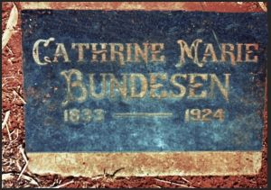 Bundesen, Catherine Marie, (nee Petersen)
