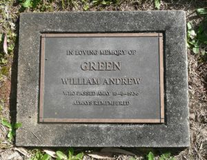 William Andrew  Green