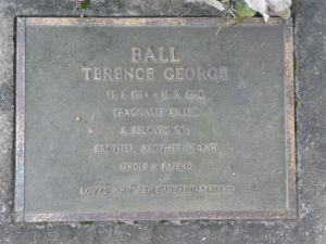 Ball, Terence George