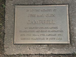 Campbell, Jess May Glen, (nee Burke)