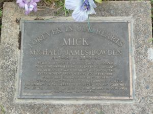 Bowden, Michael James