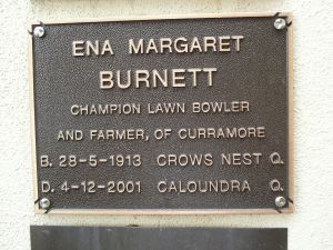 Burnett, Ena Margaret Mrs