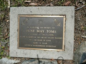 Toms, June May