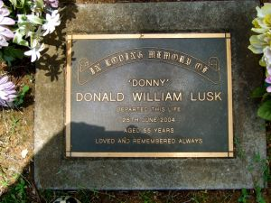 Lusk, Donald William