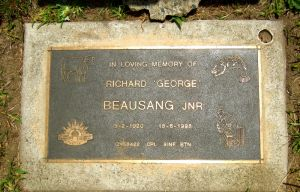 Beausang, Richard George Jnr