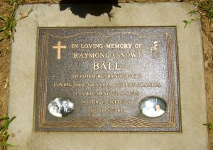 Ball, Raymond (Snow)