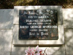 Green, David & David George McIntosh