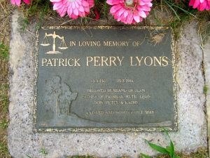 Lyons, Patrick Perry