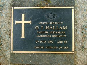 Hallam, Oswald James (Ossie)