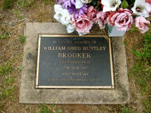 Brooker, William Obed Huntley