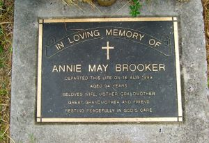 Brooker, Annie May