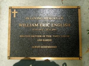 English, William Eric