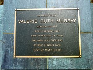 Murray, Valerie Ruth