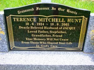 Hunt, Terence Mitchell