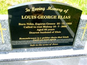 Elias, Louis George
