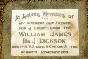 Dickson, William James