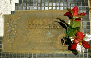 Grundon, Violet Marguerite (Mrs)