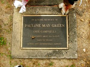 Green, Pauline May (nee Campbell)
