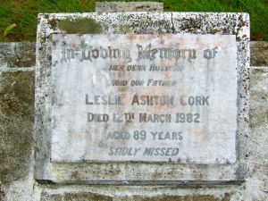 Cork, Leslie Ashton