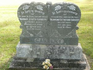 Carbery, Harold Joseph, & Blanche Catherine (nee Donnelly)