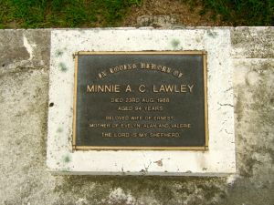 Lawley, Minnie Almira Catherine (nee Clark)