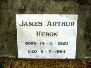 Heron, James Arthur