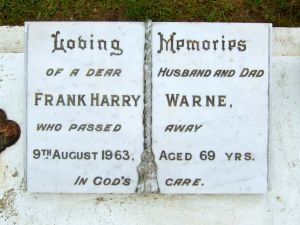 Warne, Frank Harry