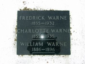 Warne, Frederick, Charlotte (nee Andrews) & William