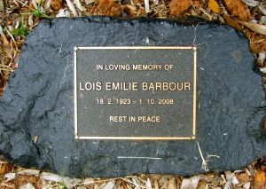 Barbour, Lois Emilie