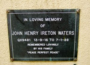 Waters, John Henry Ireton