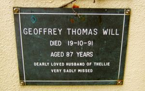 Will, Geoffrey Thomas