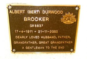 Brooker, Albert Durwood