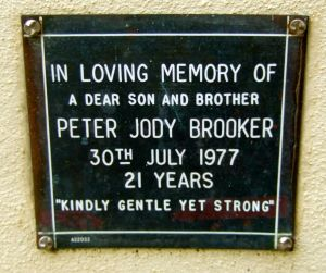 Brooker, Peter Jody