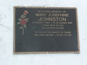 Johnston, Mary Josephine (Mrs)