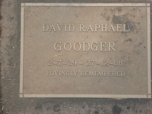 Goodger, David Raphael