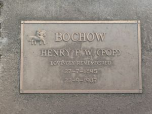 Bochow, Henry Frederick William