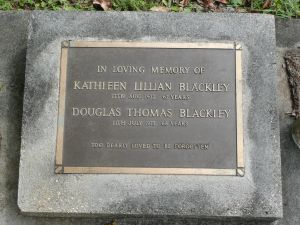 Blackley, Douglas Thomas & Kathleen Lillian