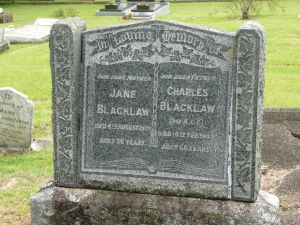 Blacklaw, Charles & Jane (nee Wood)