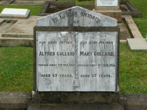 Collard, Alfred & Mary (nee Sim)