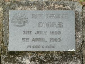 Cooke, Roy Leslie
