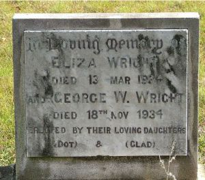 Wright. George Wilson and Eliza
