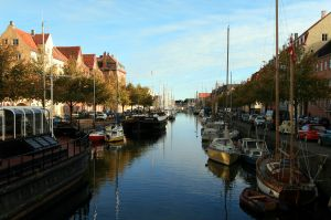 Christianshaven Kanal, Copenhagen in morning light
