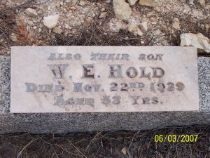 William Edward Hold
