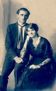 Arthur and Annie Curtis (nee Morris)