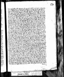 Will of John Pratt 1822 (page 2)
