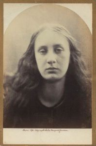 Mary Emily 'May' Prinsep by Julia Margaret Cameron.