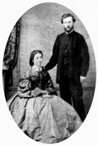 William Butler Simpson (1836-1912) and his wife Josephine Letitia, nee Hyeronimus